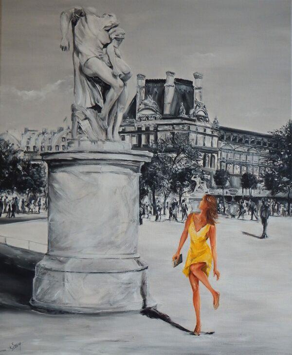 La vie reprend au Jardin des Tuileries