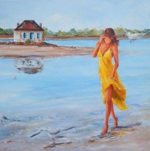 """""""Les pieds dans l'eau à Saint-Cado"""""""